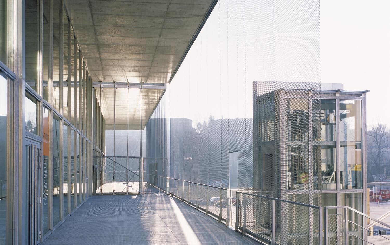 pateyarchitectes - construction du centre culturel la turbine à cran gevrier – haute savoie