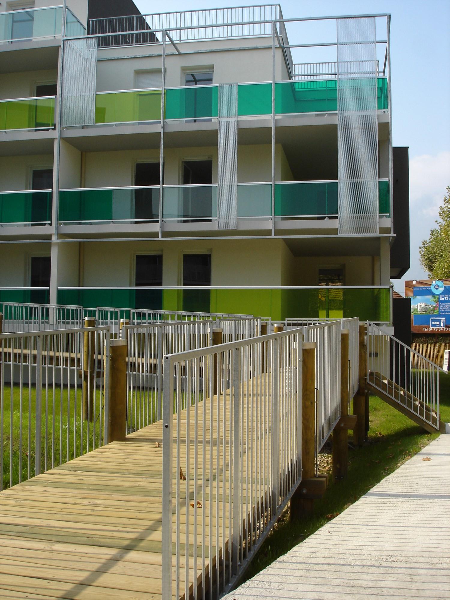 patey architectes - résidence de 55 logements en accession « le soleil de jade » à aix les bains - savoie