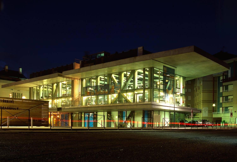construction du centre culturel la turbine à cran gevrier – haute savoie
