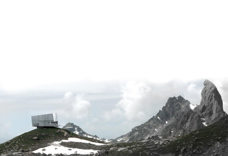concours pour la reconstruction du refuge de presset dans le massif du beaufortin – savoie