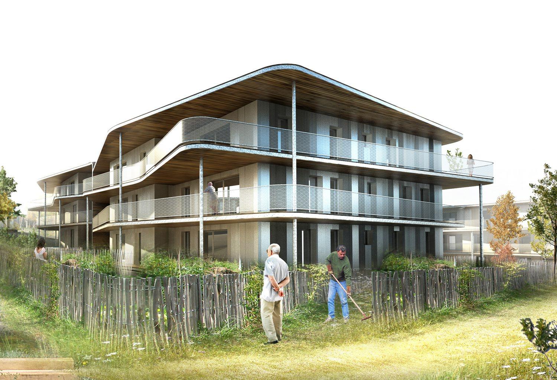 construction de 47 logements «l'opaline» au maupas à cognin – savoie