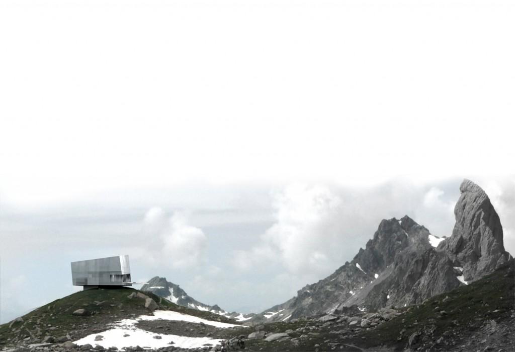 patey architectes - reconstruction du refuge de presset dans le massif du beaufortin - savoie