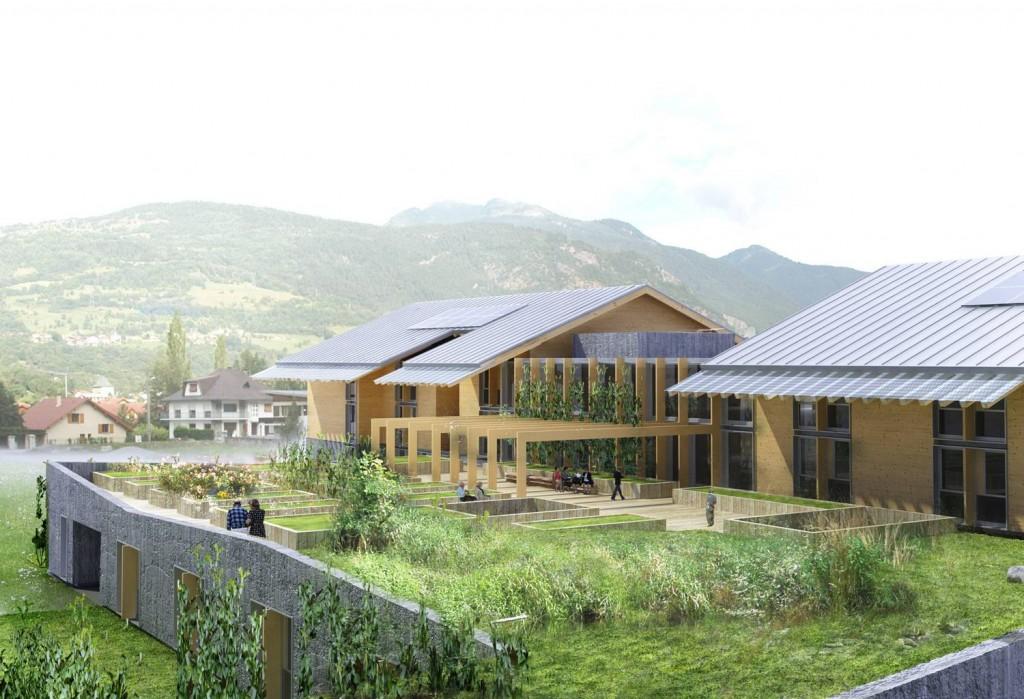 patey architectes - construction d'un EHPAD de 80 lits à aigueblanche - savoie