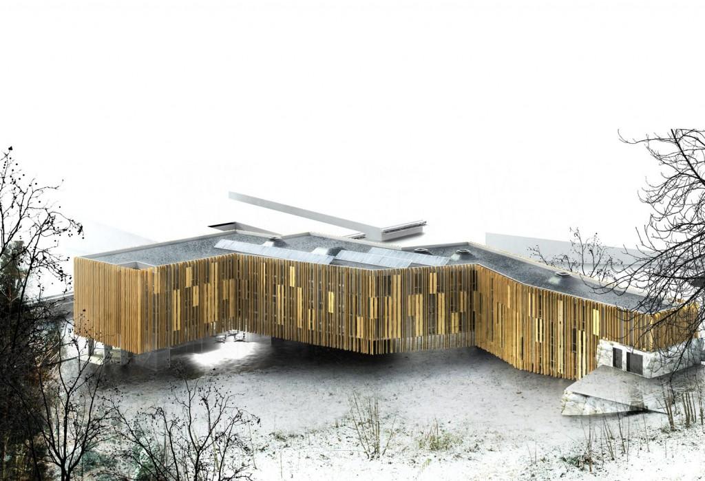 patey architectes - concours pour la construction d'un internat pour le lycée ferdinand buisson à voiron - isère