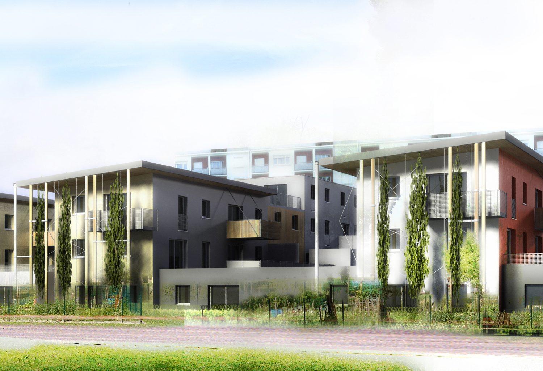 construction de 85 logements «les berges de l'hyeres» au biollay à chambery – savoie