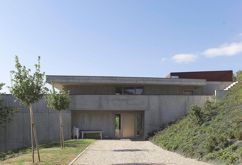 construction d'une maison individuelle (maison dans la pente) à la motte servolex – savoie