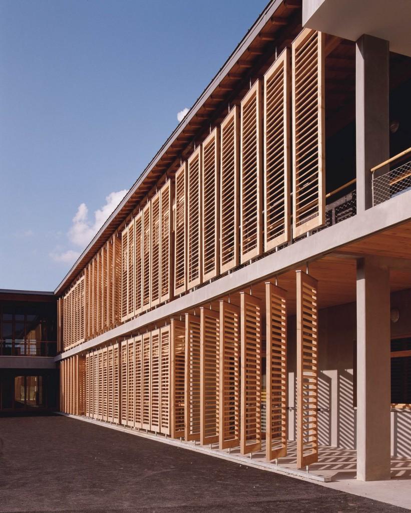 patey architectes - construction d'un groupe scolaire de 12 classes à châlles les eaux en savoie