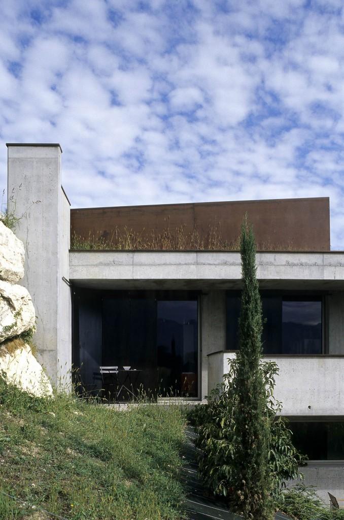patey architectes - construction d'une maison individuelle à la motte servolex en savoie