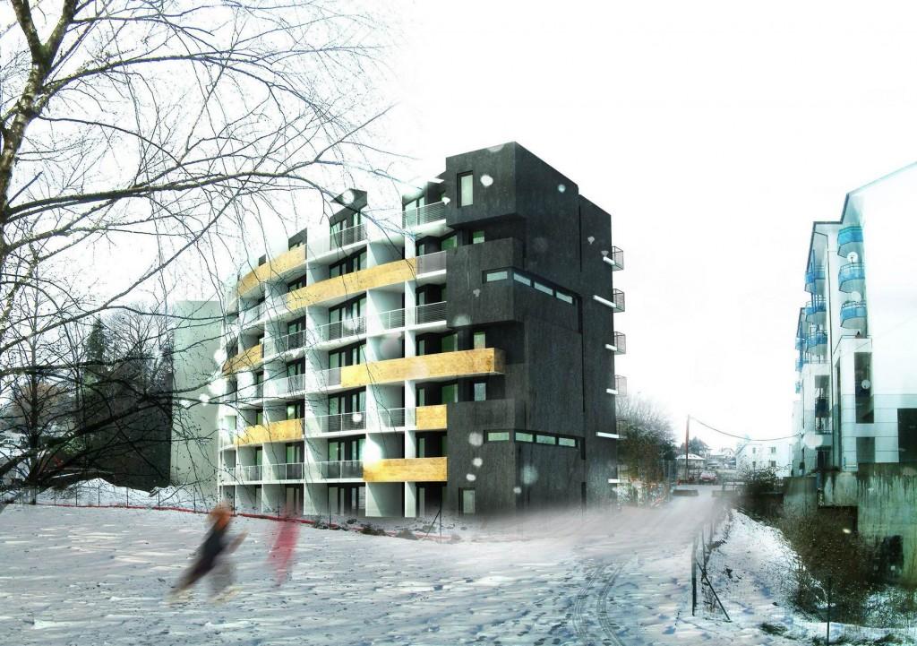 construction de 45 logements «le colisée» à chambéry – savoie