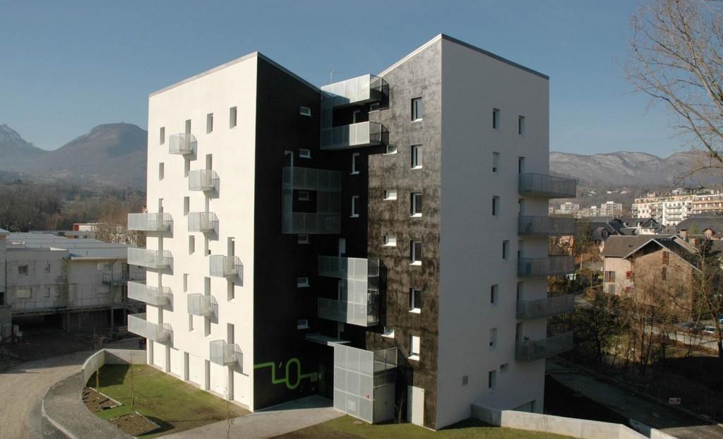 patey architectes - construction de 23 logements en accession sociale à la propriété au biollay à chambéry - savoie