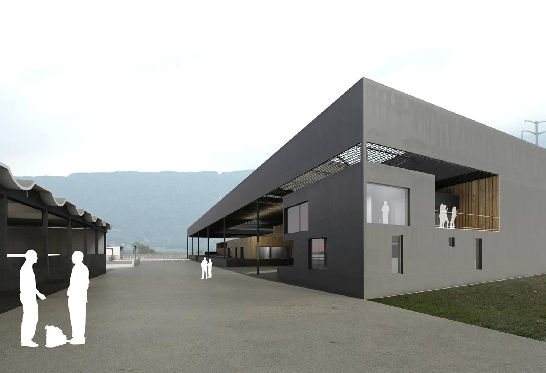 construction du nouvel abattoir à chambéry – savoie
