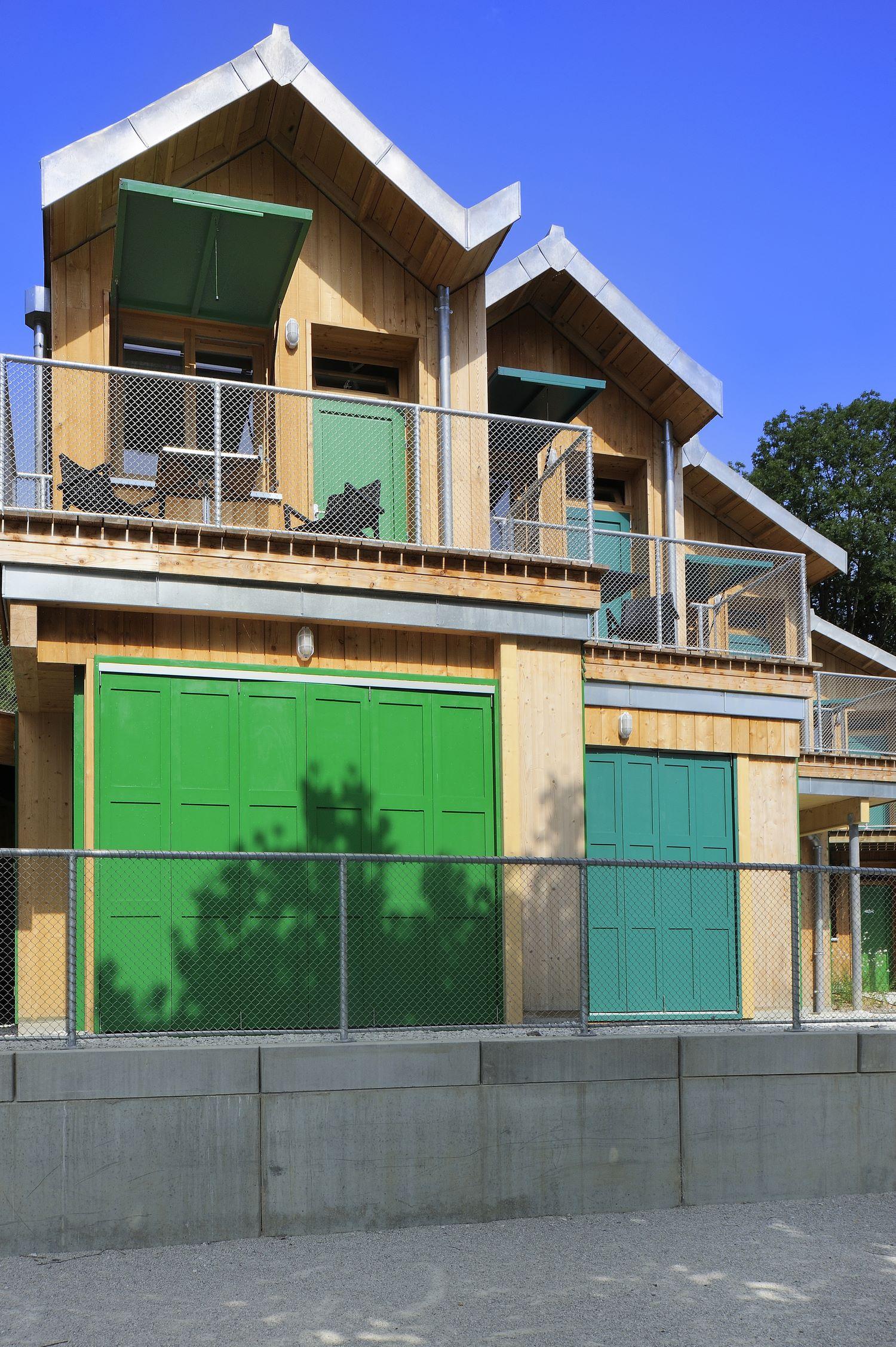 patey architectes - reconstruction et aménagement du site de la maison des pêcheurs au viviers du lac - savoie