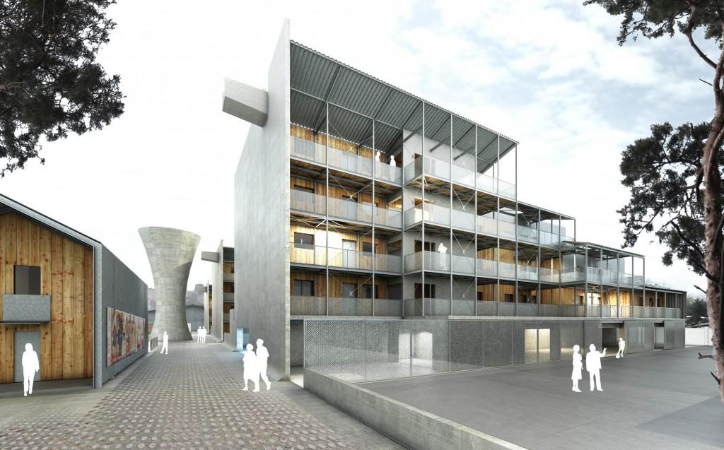 concours pour la construction de 61 logements à firminy – loire
