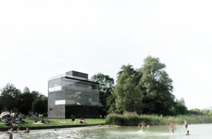 concours pour la construction d'une tour d'arrivée pour la base d'aviron du lac d'Aiguebelette – novalaise – savoie
