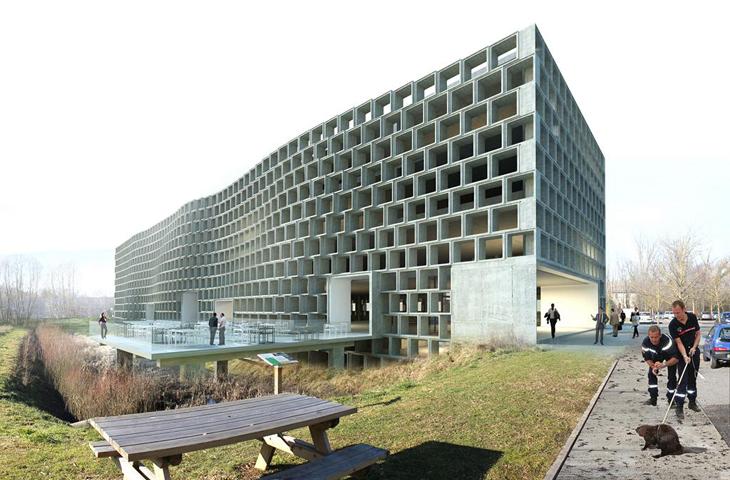 concours pour la construction d'un bâtiment tertiaire sur le site de savoie hexapole – méry – savoie
