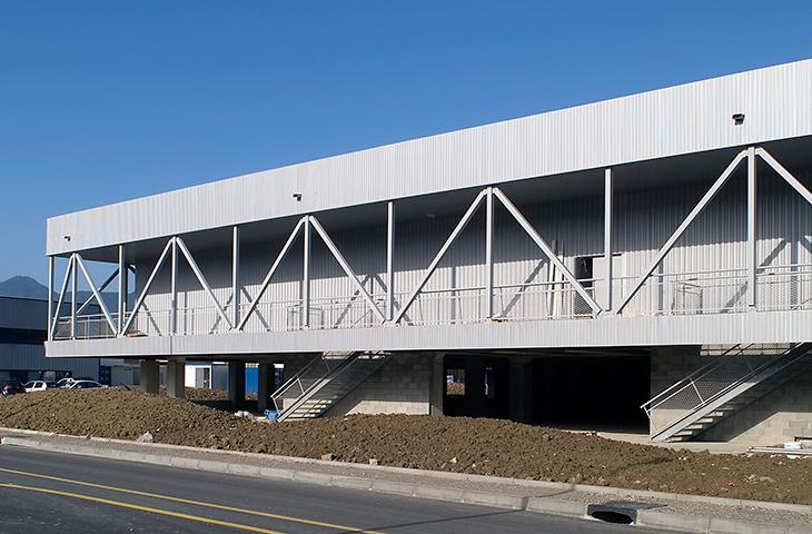 construction d'un bâtiment commercial à voglans – savoie