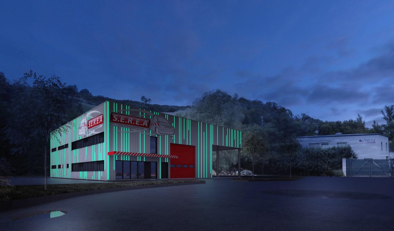 pateyarchitectes - construction d'un bâtiment industriel - la ravoire - savoie