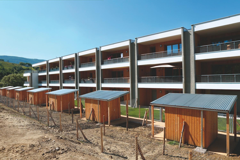 patey architectes - Construction d'un immeuble de 22 logements en accession à la propriété – Quartier du Maupas à cognin - savoie