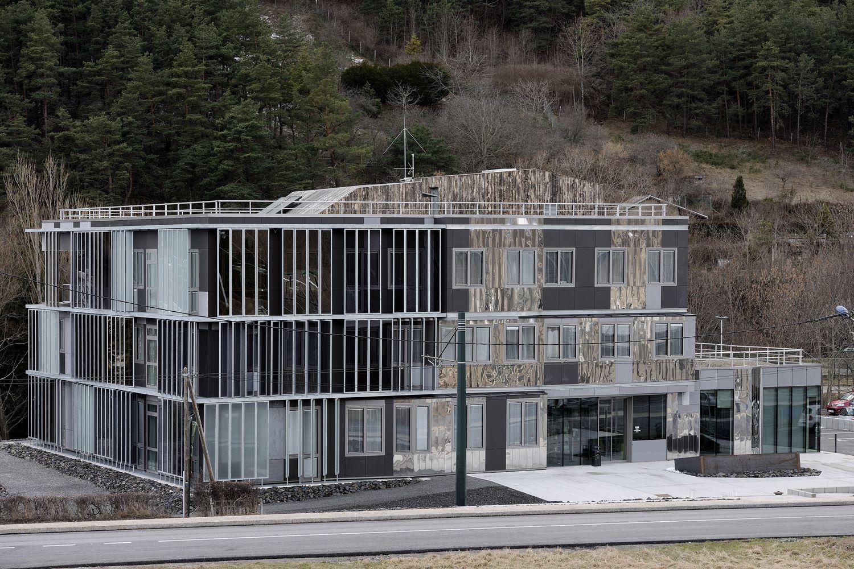 pateyarchitectes - construction de la maison du territoire de la matheysine à la mure - isère