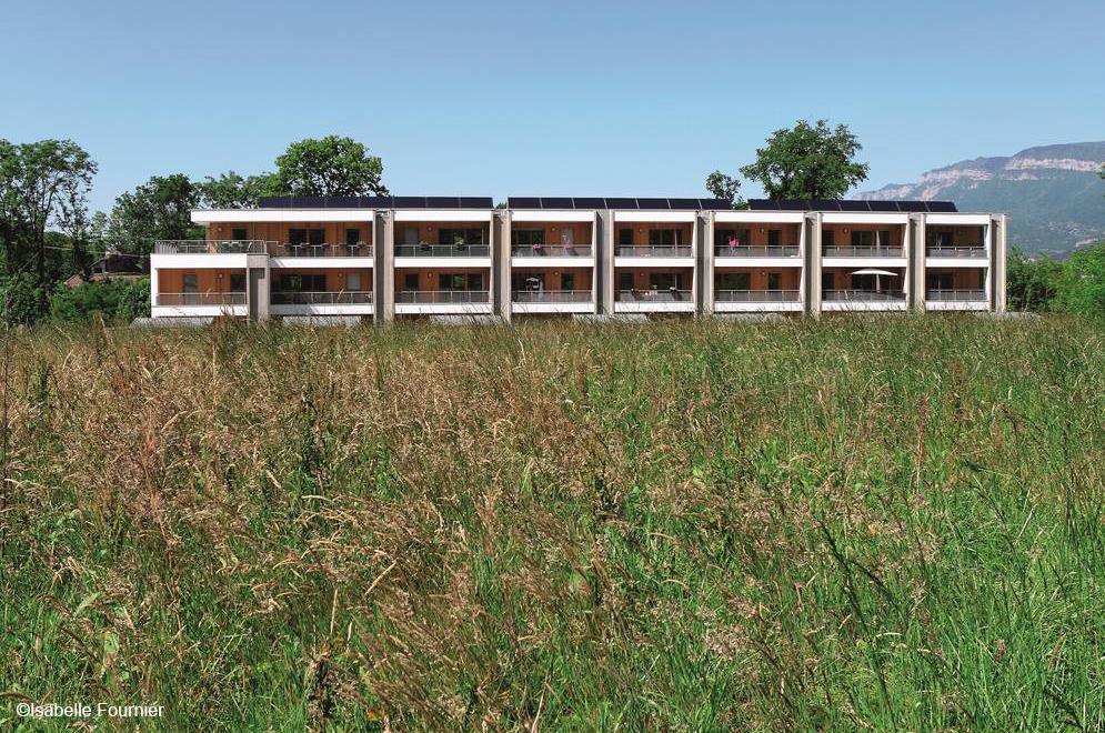 construction de 22 logements le silex à cognin – savoie