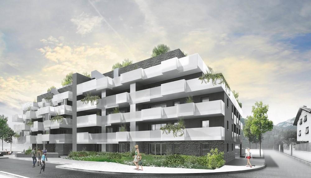 pateyarchitectes - 40 logements au centre bourg de saint alban leysse en savoie