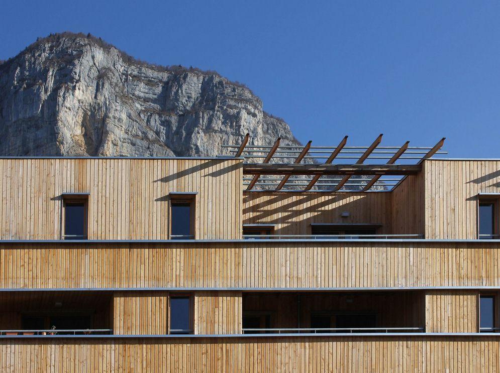 construction d'un éco hameau ( 69 logements) à saint jean d'arvey – savoie