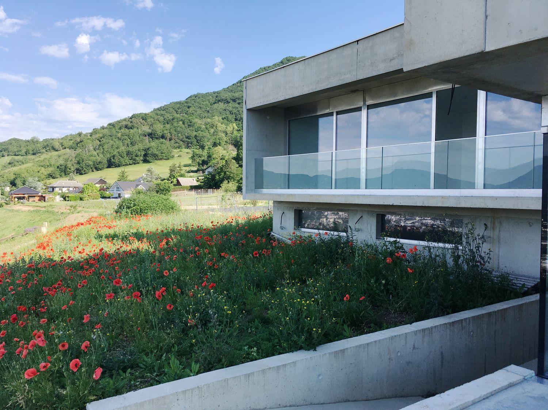pateyarchitectes - construction d'une maison individuelle à saint alban leysse – savoie