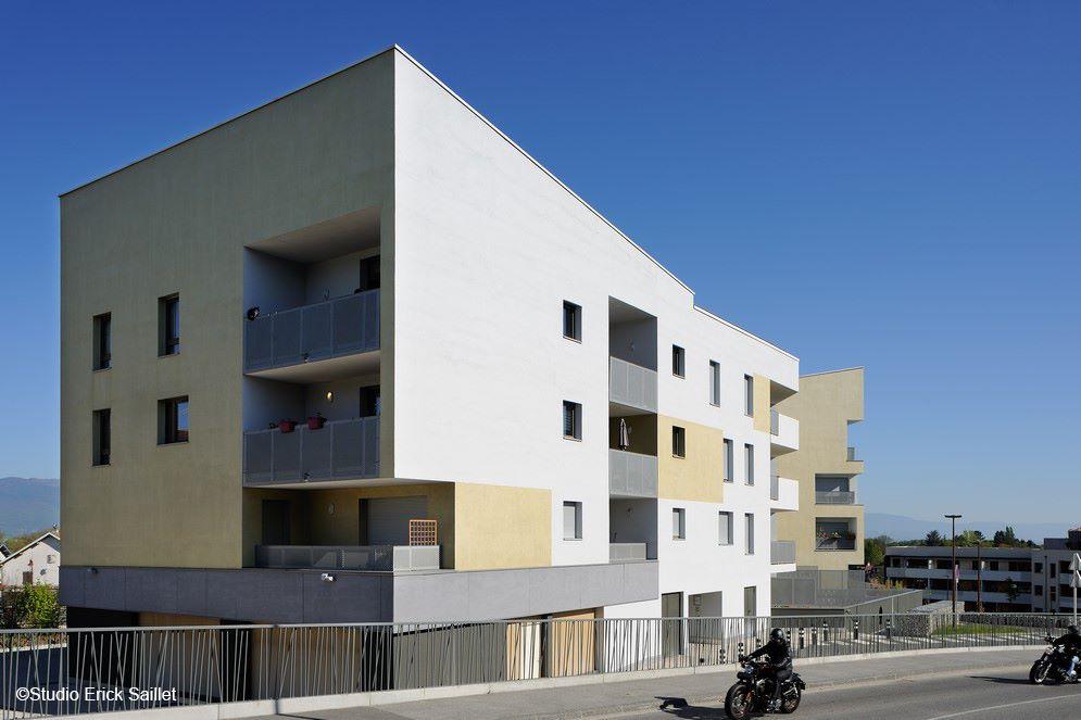 construction de 65 logements grand angle à viry – haute savoie