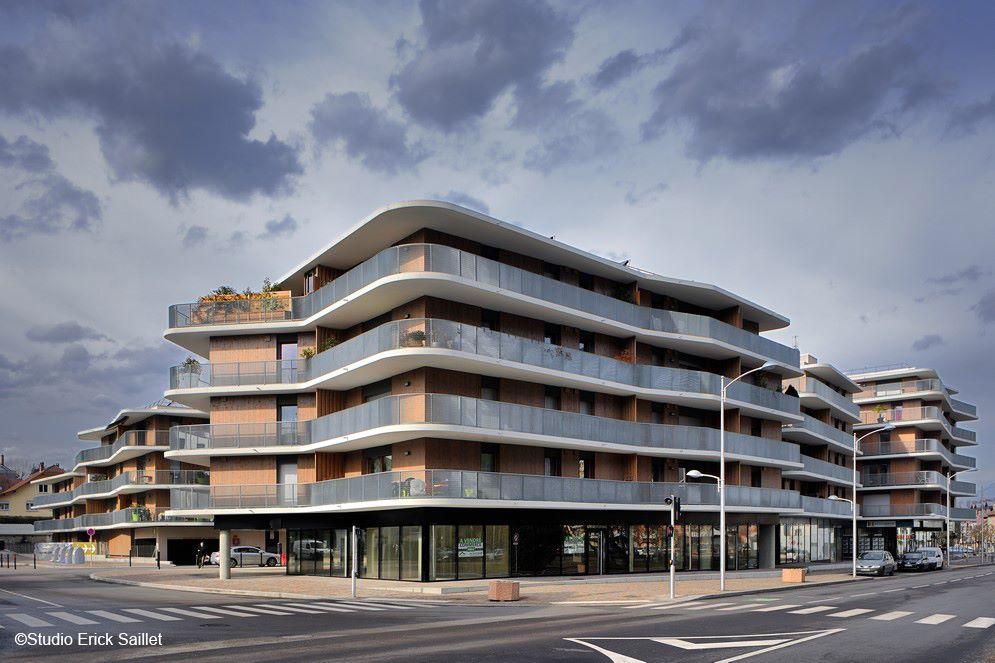 construction de 110 logements «le carré des sources» à challes les eaux – savoie