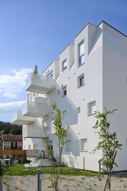 patey architectes - construction de 40 logements locatifs, boulevard lepic à aix-les-bains - savoie
