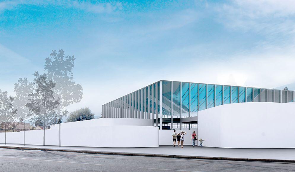 concours pour la construction d'une piscine d'agglomération à chambéry – savoie