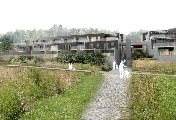 études pour 118 logements «les jardins de l'odéon» et «Les Chorégies» à bassens – savoie