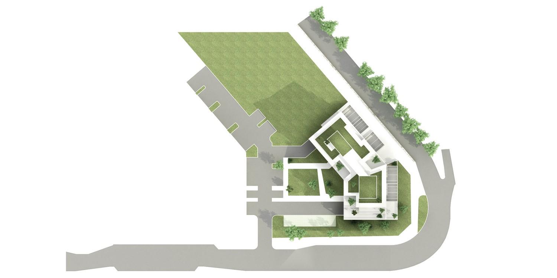 pateyarchitectes - construction d'un ensemble tertiaire à chantemerle - chambéry - savoie