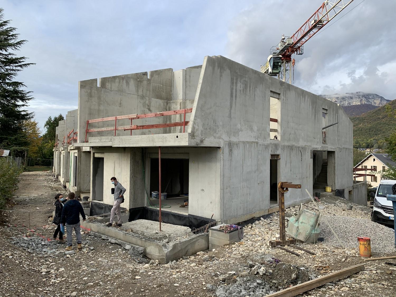 pateyarchitectes - construction de 16 logements à challes-les-eaux - savoie