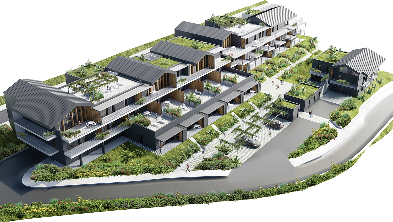 pateyarchitectes - construction de 35 logements à la zac du grand clos à barby - savoie